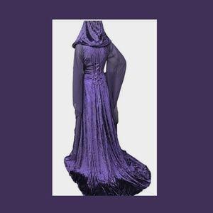 Purple cosplay dress